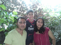 Mavish's parents